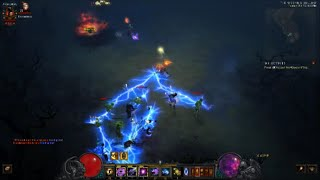 D3:RoS (2.4)- TRIPLE CHAIN LIGHTNING Wizard Build (LoN)
