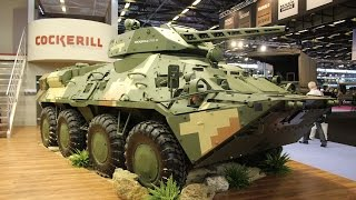 getlinkyoutube.com-CMI Defense weapon systems turret for armoure combat vehicles Belgian defense industry Eurosatory 20