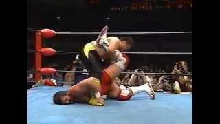 getlinkyoutube.com-Steve Williams vs. Toshiaki Kawada (AJPW 10/22/94)