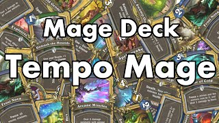 Hearthstone - MaSsan plays Tempo Mage and owns Sniperino