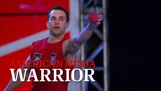 getlinkyoutube.com-Joe Moravsky at Stage 3 of the 2014 National Finals | American Ninja Warrior