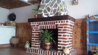 getlinkyoutube.com-Como hacer una Chimenea - How to make a Fireplace
