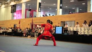 getlinkyoutube.com-2015 Canadian Wushu Nationals – Winnie Cai – Shuang Jian