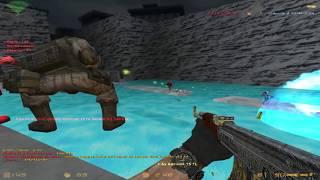 getlinkyoutube.com-Counter Strike 1.6 - Zombie Escape - Jurassicpark4 Escape   World War'Z [RETEXTURED]