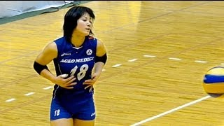 getlinkyoutube.com-2012バレー皇后杯 上尾vs中京大 第2セット Volleyball All Japan Women's Championship