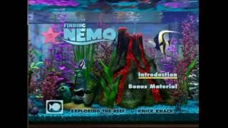 getlinkyoutube.com-Finding Nemo ENGLISH Bonus Disc DVD Menu