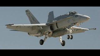 getlinkyoutube.com-Williamtown Airbase - 6 F/A-18 Landings