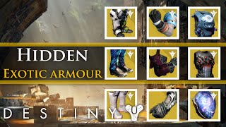 getlinkyoutube.com-Destiny - 9 Hidden pieces of exotic armor in the Taken King