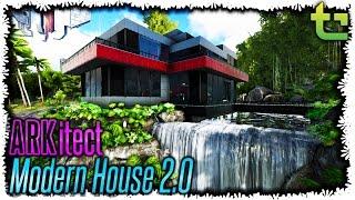 Download video ark survival evolved epic base location for Modern house ark
