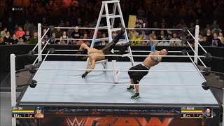 getlinkyoutube.com-WWE 2K16 - TLC Match | John Cena vs Seth Rollins Gameplay (HD) [1080p60FPS]