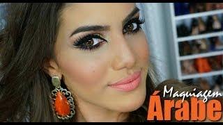 getlinkyoutube.com-Maquiagem Árabe para olhos castanhos!