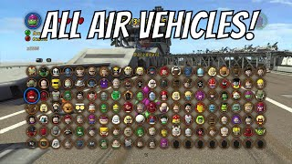 getlinkyoutube.com-LEGO Marvel Superheroes - A look at all the Air Vehicles (With Commentary)