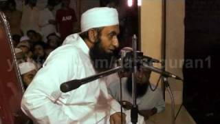 getlinkyoutube.com-Maulana Tariq Jameel 31July 2011 Banaras Karachi youtube.com/darsequran1