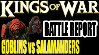 getlinkyoutube.com-Kings Of War Battle Report - Goblins vs Salamanders (1000pts)