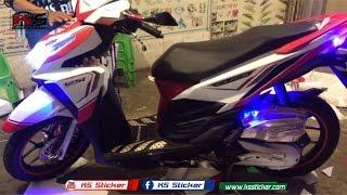 Honda Click 125i New LED - Click Modified Sticker in CAMBODIA