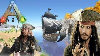 getlinkyoutube.com-ARK Survival Evolved [Pirate World] - โจรสลัดไหมหล่ะมึง