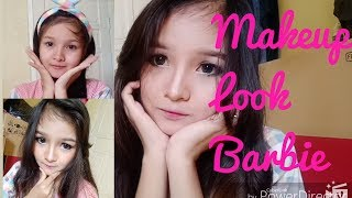 Tutorial Makeup Look Barbie sehari-hari (simple)