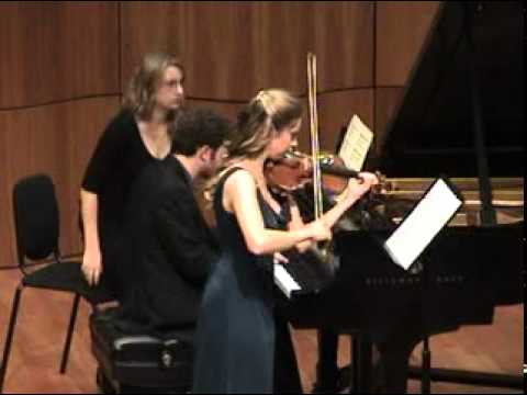 Ravel - Violin Sonata No 2 - Perpetuum Mobile (3 of 3)
