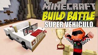 getlinkyoutube.com-Minecraft: Build Battle, Super Vehiculo.