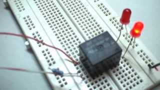 getlinkyoutube.com-How To Make A Simple Relay Circuit