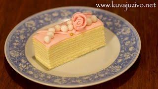 getlinkyoutube.com-Torta Mađarica - Video recept