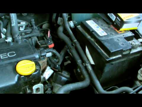 OPEL ASTRA ECOTEC OIL FILTER REMOVAL