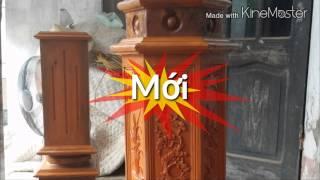 getlinkyoutube.com-Lan can cầu thang gỗ - Đức Tuấn