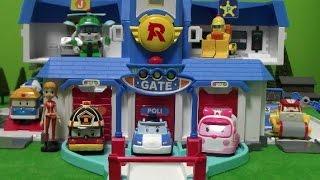 getlinkyoutube.com-로보카폴리 열리는 구조본부 장난감 Robocar Poli Rescue Center Toys