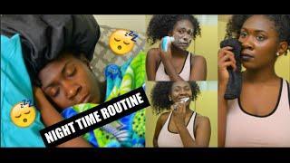 NIGHT TIME ROUTINE/GET UNREADY WITH ME 2015 - Nia Imani