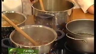 "getlinkyoutube.com-H Ιωάννα Τσολομίτη φτιάχνει γλυκό καρπούζι στο ""Καλώς τους"" με τη Ρούλα Κορομηλά"