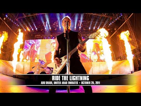 Metallica - Ride the Lightning (Live - Abu Dhabi, UAE) - MetOnTour