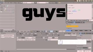 Tutorial 14: Dynamic Text in Blender Game Engine