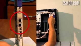 Как установить АТС Panasonic KX-TDE 200