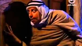 صطيف الاعمى يحاول دخول بايكت ابو شهاب وفتحي  يرفض فتح الباب