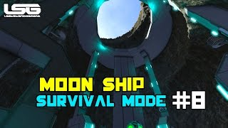 getlinkyoutube.com-Space Engineers - Moon Ship Construction SE5 - EP8