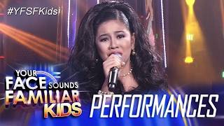 Your Face Sounds Familiar Kids: Elha Nympha as Dulce - Ako Ang Nasawi, Ako Ang  Nagwagi