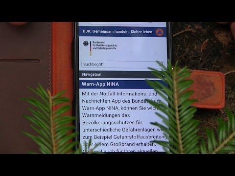 Warn-App NINA (Unwetter, Hochwasser & Bevölkerungsschutz) | Outdoor AusrüstungTV