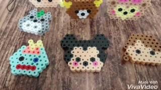 作り方⭐図案 アイロンビーズ ミッキー ツムツム風 Mickey Mouse Disney パーラービーズ