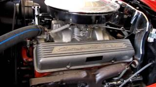 getlinkyoutube.com-1963 Corvette 340 hp number's matching frame off restored-cold start