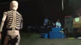 getlinkyoutube.com-Yakshagana -- Seetharam kumar kateel as Pretha -  Pravehsa