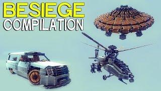 getlinkyoutube.com-►Besiege Compilation - The Most Popular Creations