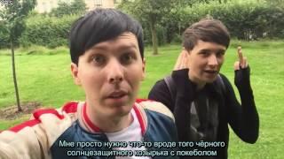 getlinkyoutube.com-Dan and Phil play Pokemon GO! rus sub