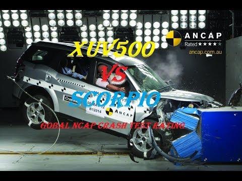 Mahindra Scorpio V Xuv500 Crash Test Global NCAP Safety Rating