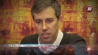 Trump debe tratar a México con respeto Beto O'Rourke