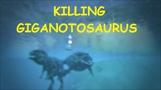 getlinkyoutube.com-Ark Survival Evolved Ep 49 HOW TO KILL A GIGANOTOSAURUS