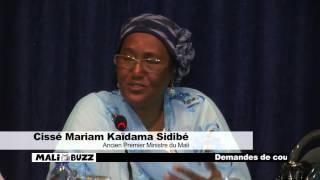 intervention de madame Cissé Mariam Kaïdama Sidibé lors de l'atélier préparatoire de la COP21