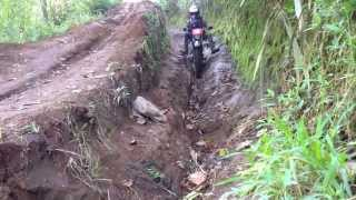 getlinkyoutube.com-Oops Demi Tuhan Motocross fail in jayaGiri west jaVa O2 / Rusuh Adventure / Gempala Ikat 29.6.2013