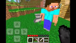 getlinkyoutube.com-Minecraft Pocket Edition 0.3.0 Online Multiplayer