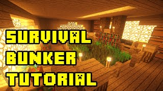 getlinkyoutube.com-Minecraft: Survival Apocalypse Bunker Tutorial Xbox/PE/PC/PS3/PS4