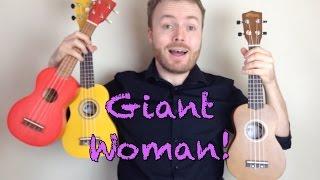 getlinkyoutube.com-Giant Woman - Steven Universe (Ukulele Tutorial)